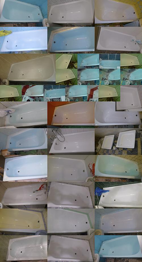 Реставрированные ванны