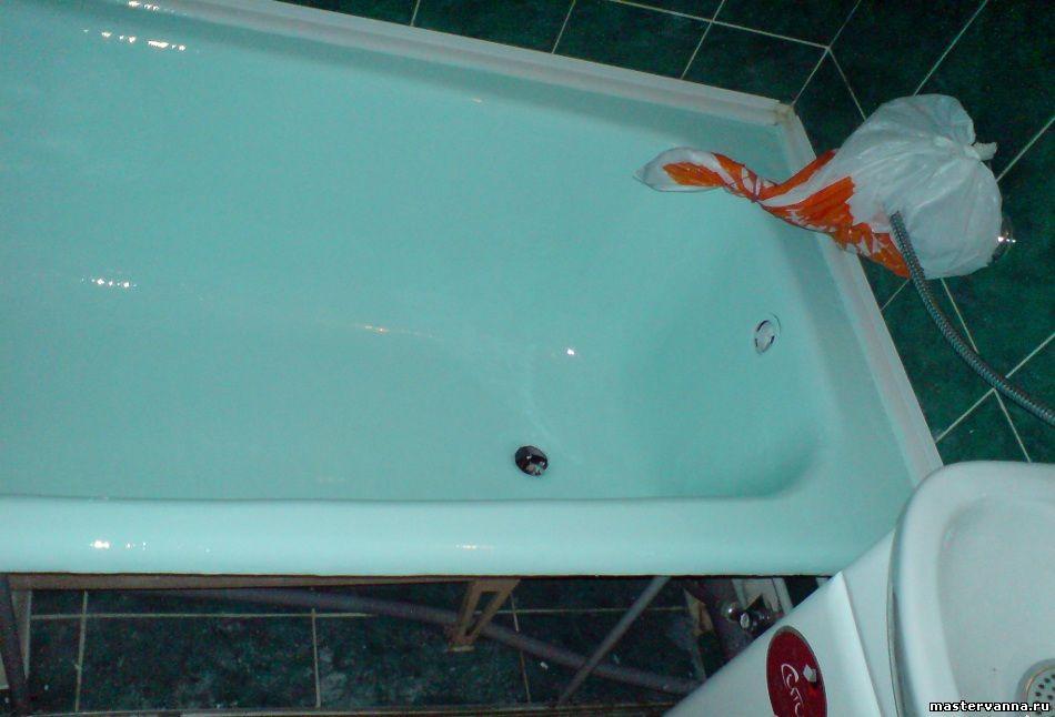 Качественная эмалировка ванн возможна даже в тех случаях, когда ванна еще не начала облезать