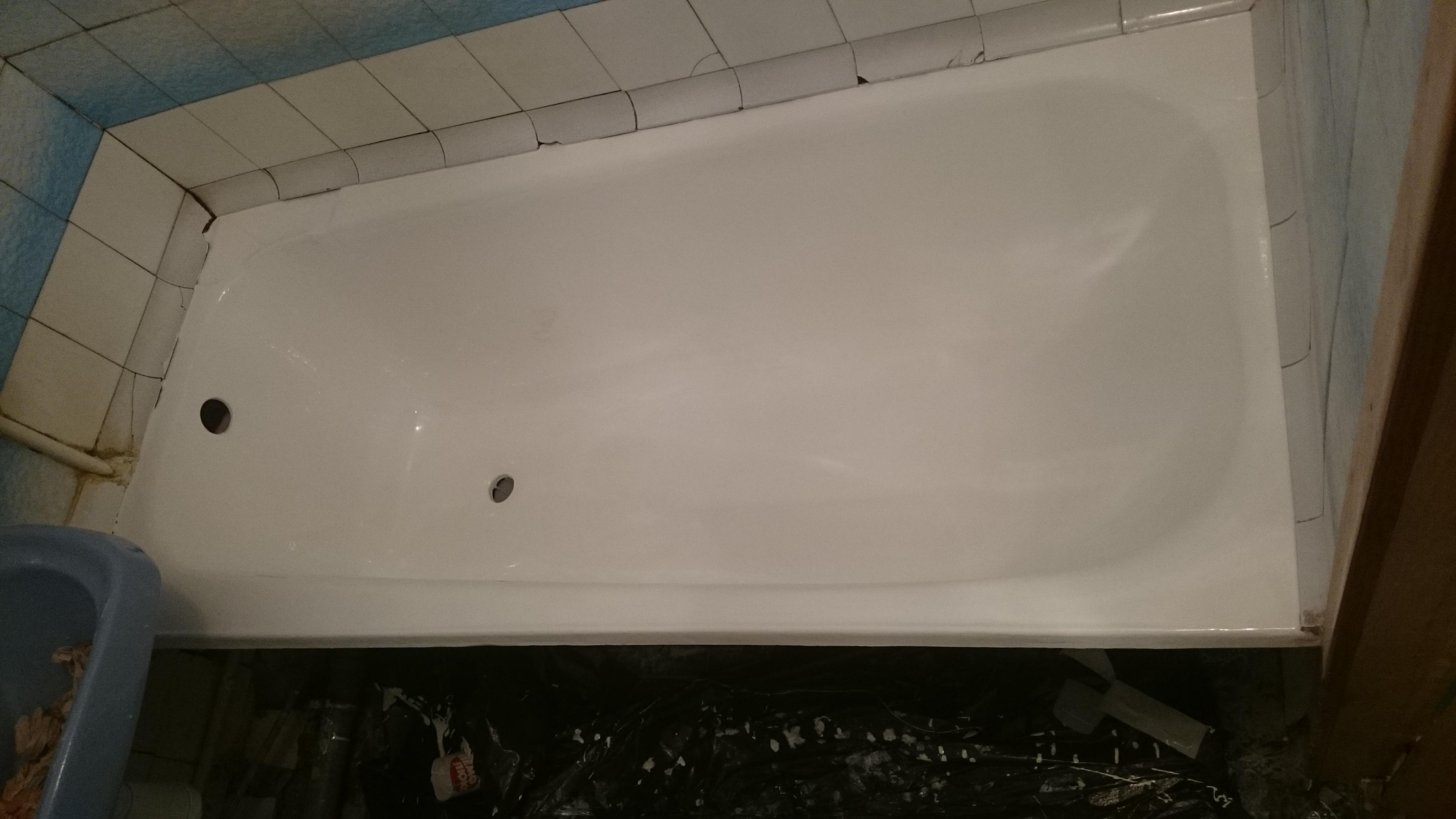 Ванны после реставрации
