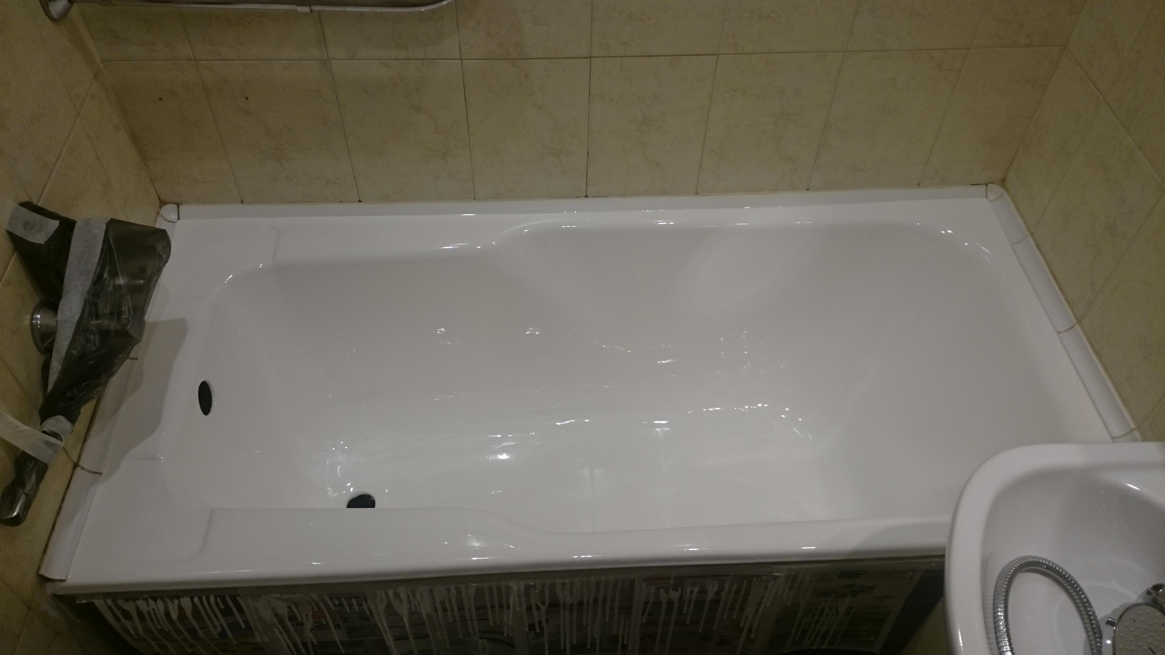Свеженалитая ванна в Стрельне