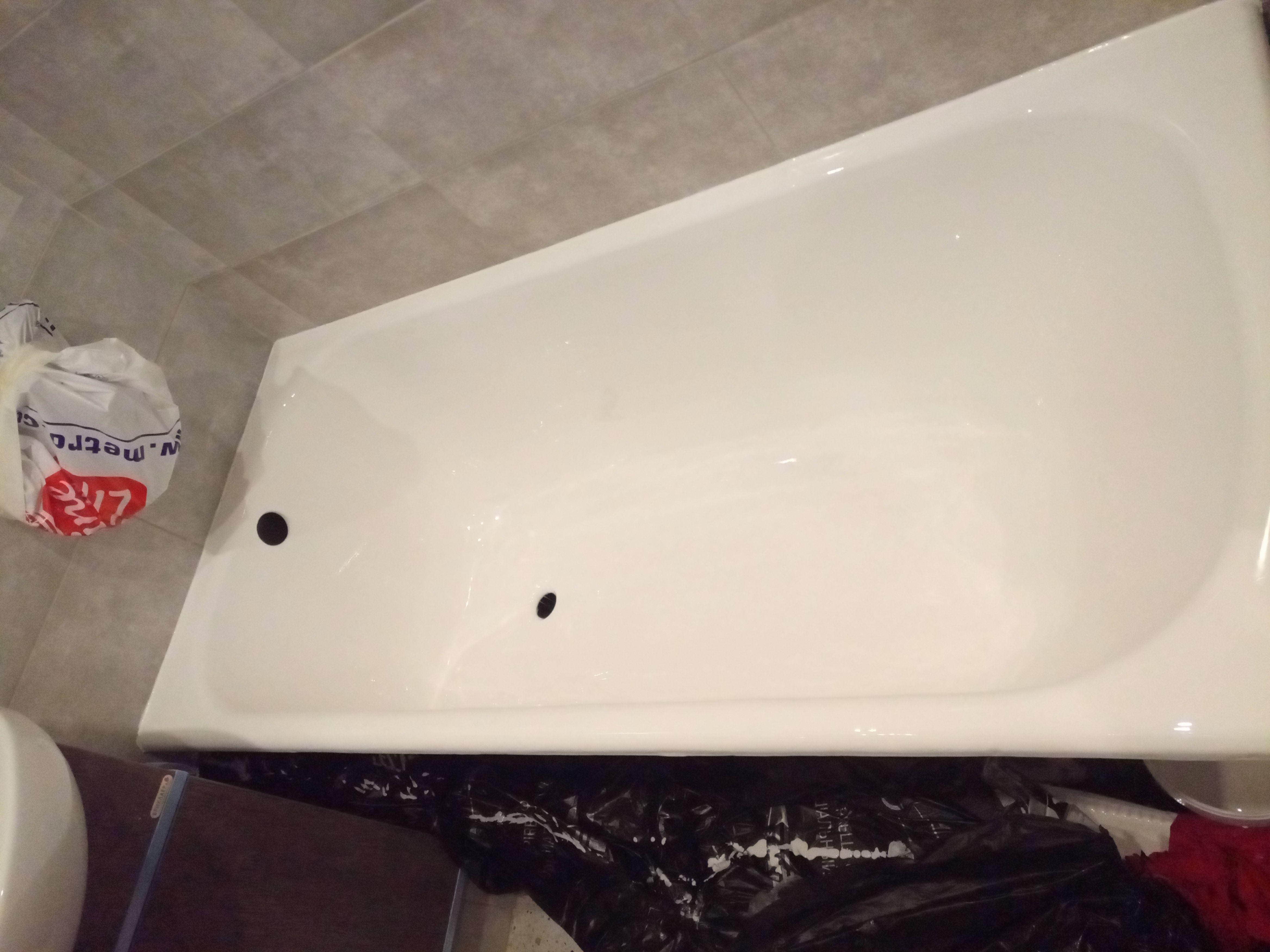 Реставрация ванны Стакрилом на Садовой ул.