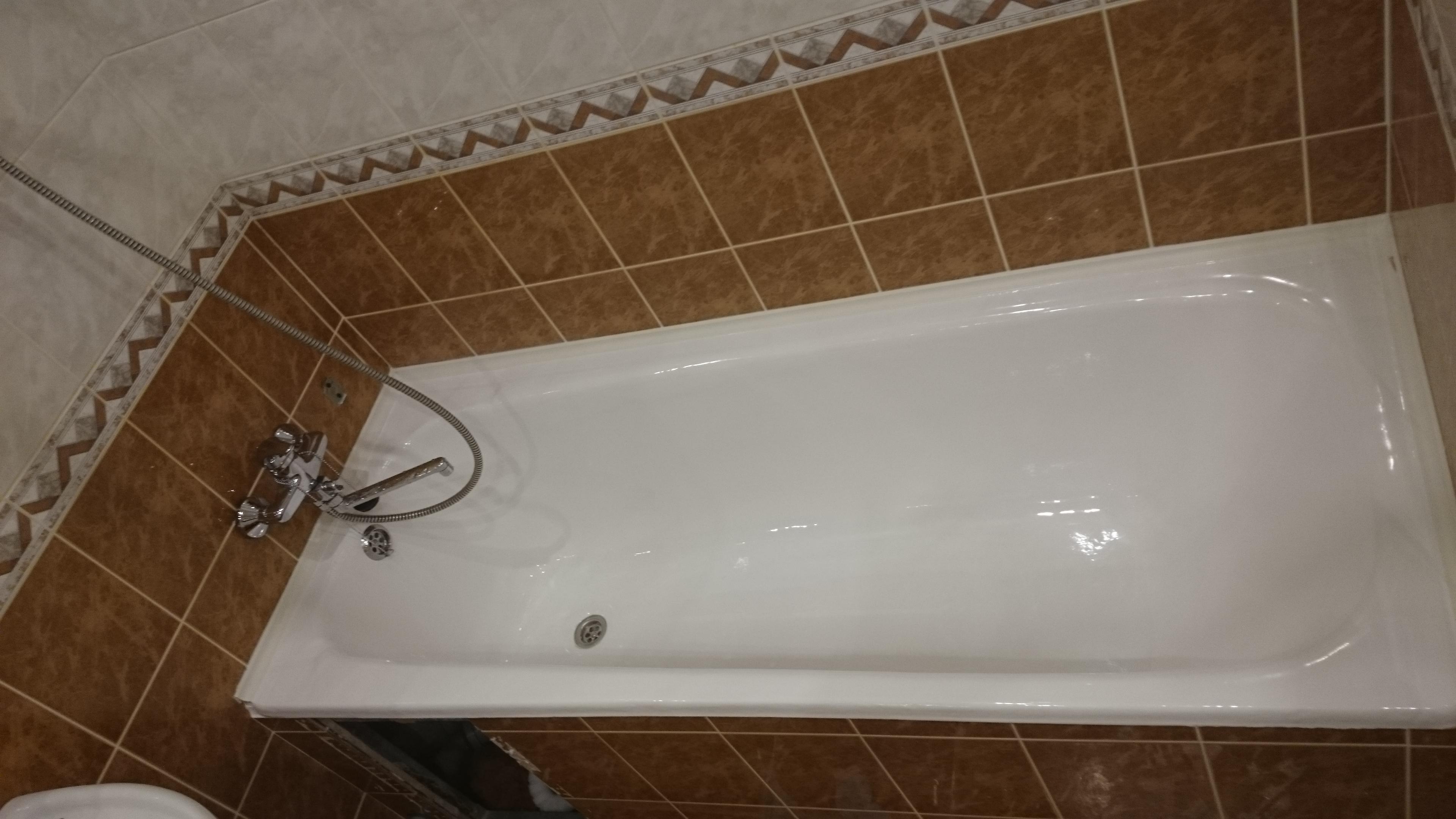Готовая ванна наливной акрил с постобработкой